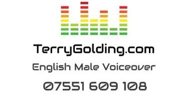British Male Voiceover Terry Golding