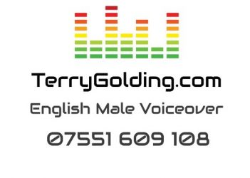 Terry Golding – Professional Male Voiceover